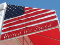 California Fine Art Galleries Originals - United We Stand by Sgns Of The Times Colleciton