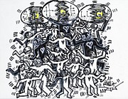 Folk Dancing Prints - Unity Print by Robert Wolverton Jr