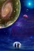 Universes Print by Pal Virag