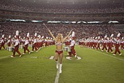 Tuscaloosa Photo Prints - University Of Alabamas Marching Band Print by Everett