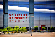 University Of Arizona Art - University of Phoenix Stadium by Diane Wood
