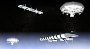 Unmanned High Altitude Aircraft, Artwork Print by Christian Darkin