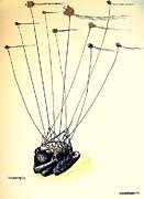 Unsuccessful Attempt To Raise High Flights Print by Paulo Zerbato