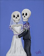 Wedding Day Prints - Until Death... Print by Kerri Ertman