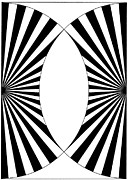 Op Art Drawings Posters - Untitled 11 Poster by Joanna Potratz