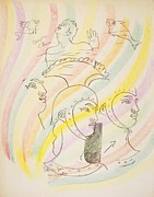 Jean Cocteau Art - Untitled 12 by Jean Cocteau