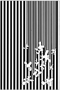Op Art Drawings Posters - Untitled 6 Poster by Joanna Potratz