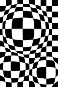 Op Art Digital Art Posters - Untitled 87 Poster by Brad Hartung