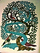 Gond Paintings - Untitled by Dilip Shyam