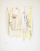 Jean Cocteau Art - Untitled by Jean Cocteau