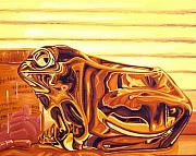 Frog Metal Prints - Untitled Metal Print by Judy Henninger