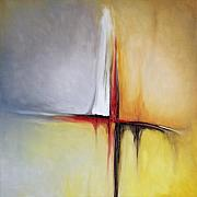 Abstract Oil Paintings - Untitled by Mike Irwin