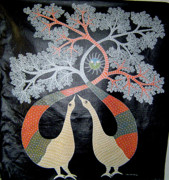 Gond Paintings - Untitled by Rajendra Kumar Shyam