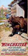 Old West Painting Prints - Unwelcome Visitor Print by Phillip R Goodwin