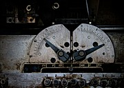 Machinery Photos - Up A Notch by Odd Jeppesen
