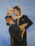 Ballroom Paintings - Up Close and Personal by Judy Kay