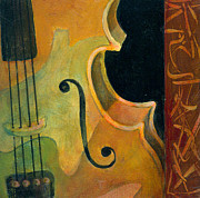 Musical Painting Originals - Up Close and Personal by Susanne Clark