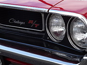 Mopar Metal Prints - Up Close Metal Print by Chad Thompson