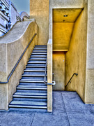 Fine Photography Art Framed Prints - Up Stairs Down Stairs Framed Print by Paul Wear