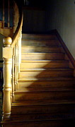 Susan Bergstrom Art - Up The Down Staircase by Susan Bergstrom
