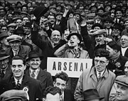 Mature Adult Photos - Up The Gunners ! by A. Hudson/H. F. Davis