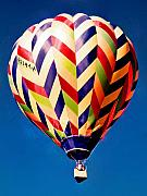 Hot Air Balloon Photos - Up Up and Away by Michael Durst