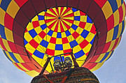 Metamora Metal Prints - Up Up and Away Metal Print by Rodney Campbell