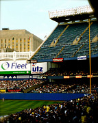 Yankee Stadium Photographs Prints - Upper Deck  The Yankee Stadium Print by Iconic Images Art Gallery David Pucciarelli
