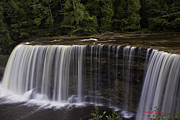 Newberry Prints - Upper Falls Print by Timothy J Berndt