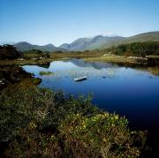 Serenity Scenes Landscapes Framed Prints - Upper Lake, Killarney National Park, Co Framed Print by The Irish Image Collection