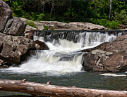 National Parks Photos - Upper Linville Falls by John Haldane