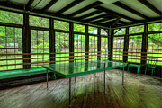 Ping Pong Art - Upper Ping Pong Room by Mark Dottle