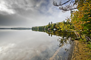 Adirondack Lakes Posters - Upper Saranac Lake in Adirondack Park - New York Poster by Brendan Reals