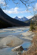 Saskatchewan Photos - Upper Saskatchewan River 2 by Larry Ricker