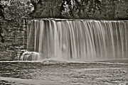 Michigan Waterfalls Prints - Upper Tahquamenon 6279 Print by Michael Peychich