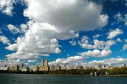 Central Park West Photos - Upper West Side Cityscape by Allan Einhorn