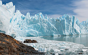 Cold Art - Upsala Glacier by Michael Leggero