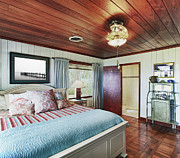 Florida House Photos - Upscale Bedroom Interior by Skip Nall