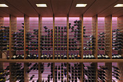 Wine Cellar Photos - Upscale Wine Rack by Jeremy Woodhouse