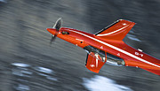 Axalp Prints - Upside Down Print by Angel  Tarantella