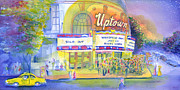 Band Painting Originals - Uptown Hall Widespread Panic by David Sockrider