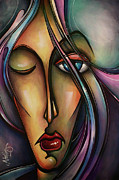 Cubist Framed Prints - Urban Design Framed Print by Michael Lang