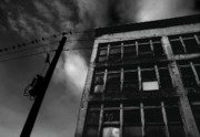 Habitation Photo Acrylic Prints - Urban Desolation Acrylic Print by Barbara  White