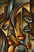 Earth Tones Metal Prints - Urban expression Metal Print by Michael Lang