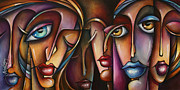 Interaction Paintings - Urban Expressions c566 by Michael Lang