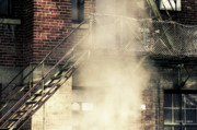 My Space Prints - Urban Fog Print by Jayne Logan