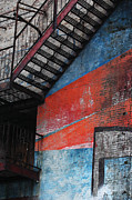 Graffiti Steps Prints - Urban Landscape Print by Anahi DeCanio