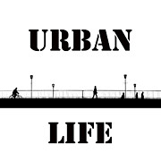 Urban Life Digital Art - Urban Life by Stefan Kuhn