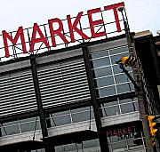 Market Mixed Media - Urban Market by Gary Everson