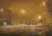 Urban Mist 1 Print by Paul Mitchell